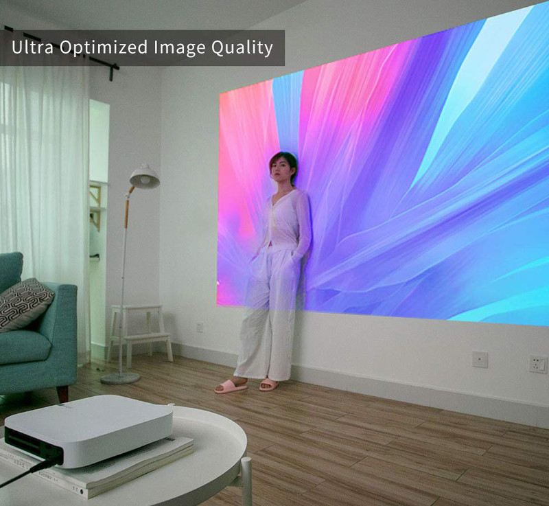XGIMI Z6 Polar 1080p 4K HD Projecteur Auto Focus 2 LED