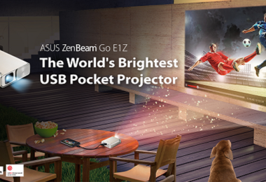 Avis ASUS ZenBeam E1 - Projecteur Mini LED Portable WVGA