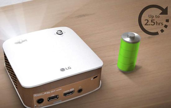 LG Minibeam PH150G Vidéoprojecteur LED HD