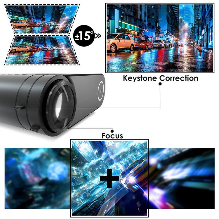 Correction du ELEPHAS Videoprojecteur 4200 Lumens Mini Projecteur