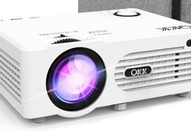 MON Test du Projecteur AK-80 QKK Supporte 1080P FHD