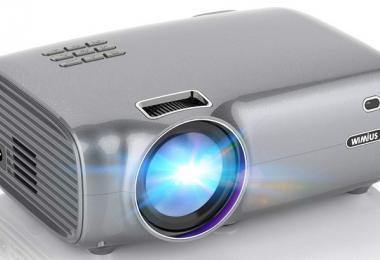 WiMiUS 4200 Lumens Projecteur Portable