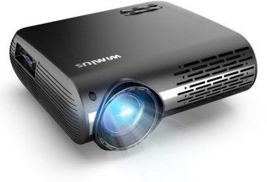WiMiUS 5500 Lumens Vidéo Projecteur Full HD
