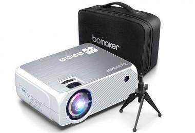 Avis BOMAKER Mini Projecteur 4800 Lumens