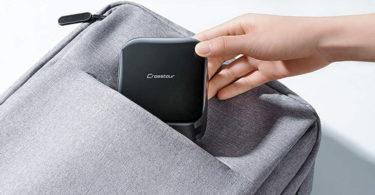 Crosstour Mini vidéoprojecteur Portable DLP Poches