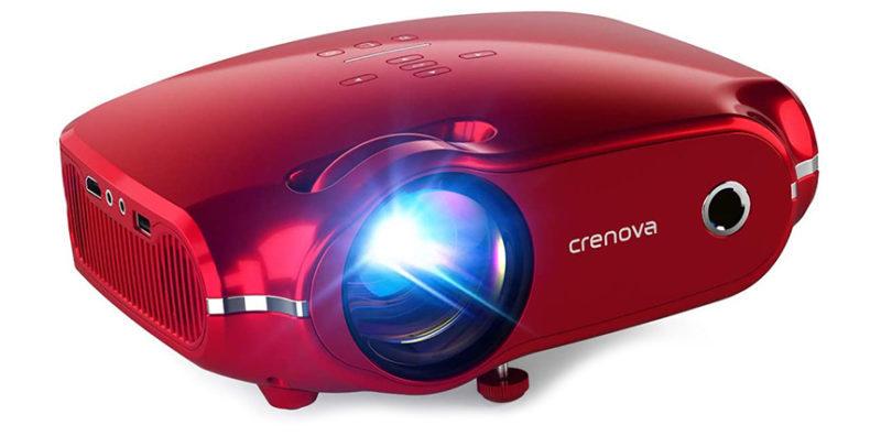 Test du Crenova Mini Vidéoprojecteur XPE500
