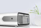 picoprojecteur HOLLYWTOP Vidéoprojecteur WiFi Home Cinéma, Mini Vidéo Projecteur de 4200 Lumens