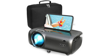 test picoprojecteur FUJSU Mini Projecteur Portable 5500 Lumens Videoprojecteur 1080P Full HD