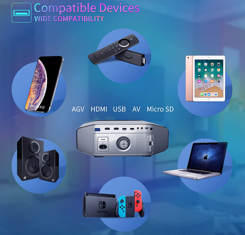 picoprojecteur Artlii Videoprojecteur Full HD-ENERGON 2