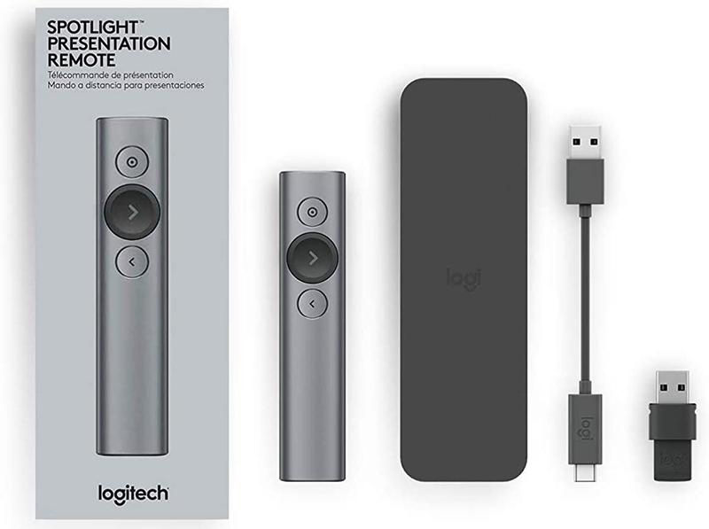 Logitech Spotlight Télécommande de Présentation sans Fil