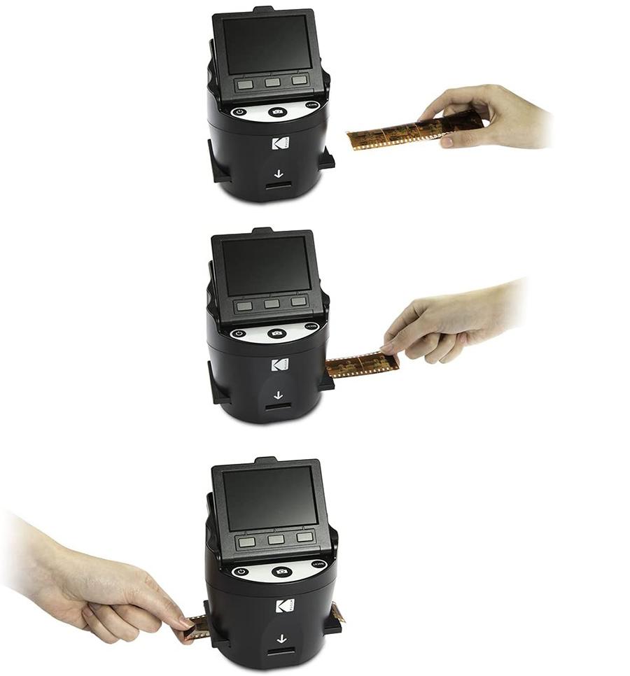 Avis Kodak Digital Film Scanner - Convertit les négatifs et diapositives de film 35 mm
