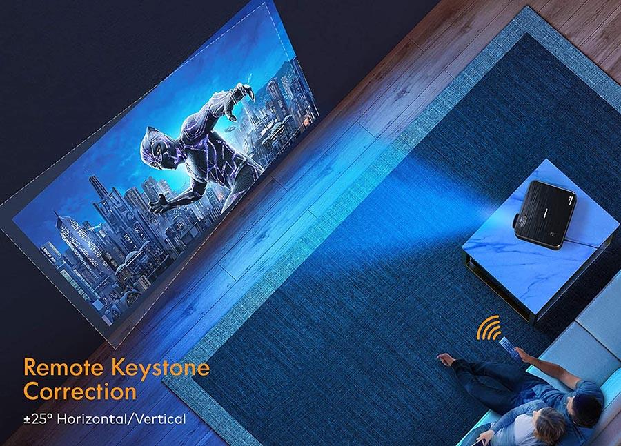 Avis Projecteur APEMAN 1080P Natif Full HD Vidéoprojecteur