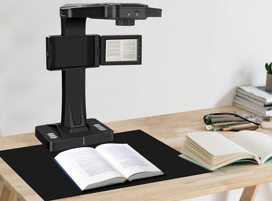 Avis Test DIGITNOW Scanner de Livres Scanner de Document avec Fonction OCR