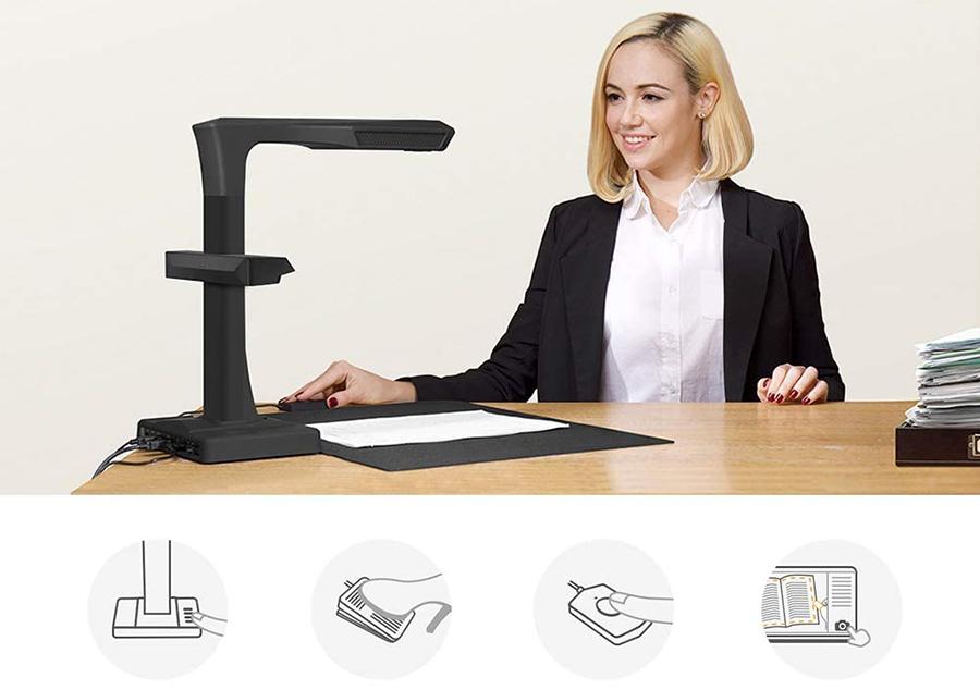 CZUR ET18-P Premium Scanner de Livres et Scanner de Document