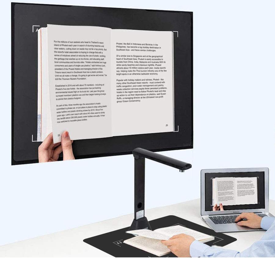 Caméra de Lecture et de Documents Bamboosang X9