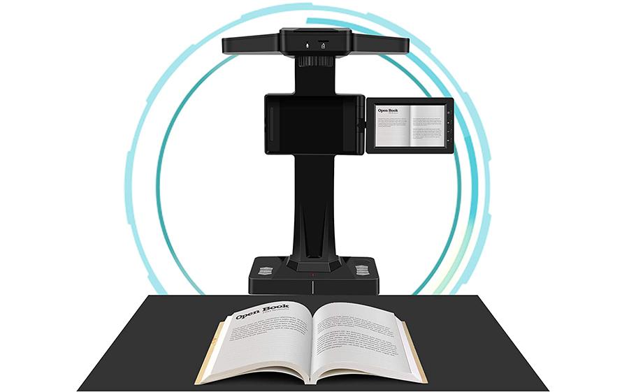 DIGITNOW Scanner de Livres Scanner de Document avec Fonction OCR
