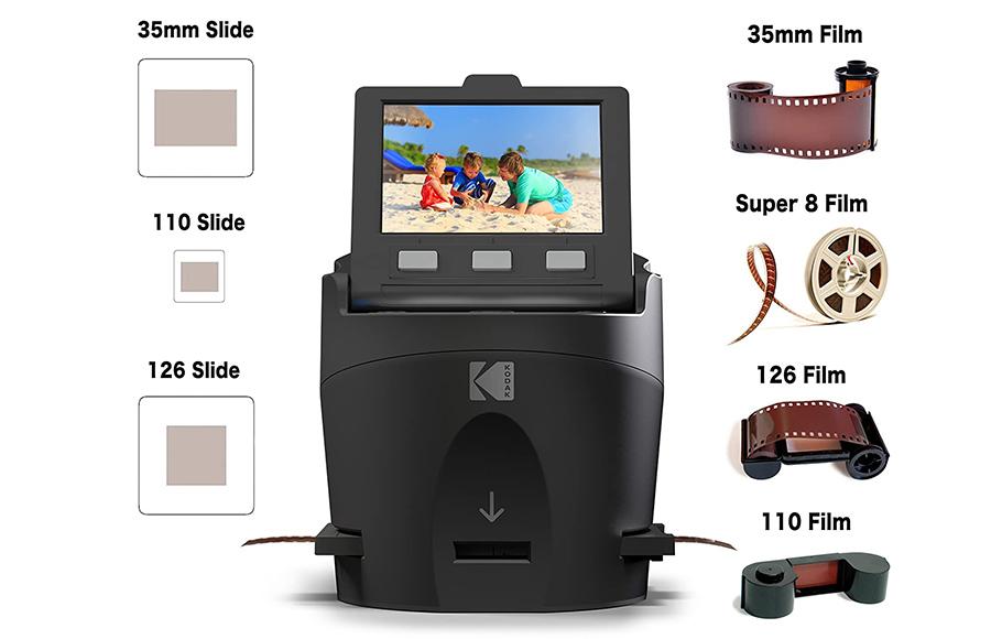 Kodak Digital Film Scanner - Convertit les négatifs et diapositives de film 35 mm