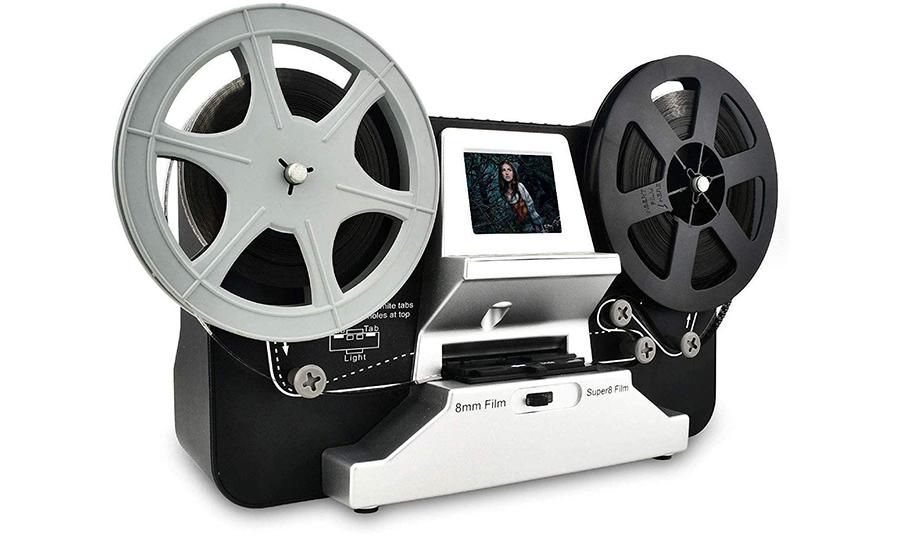 Mersoco Scanner de pellicule pour Films 8 mm et Super 8