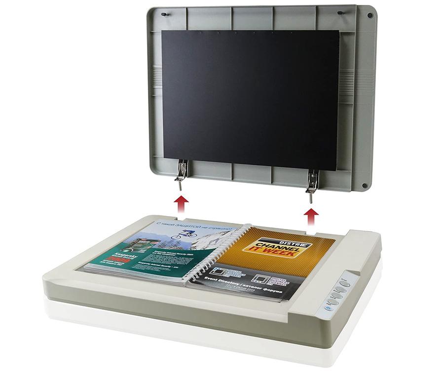 Plustek OS1180 Scanner à Plat pour Graphiques et Documents au Format A3