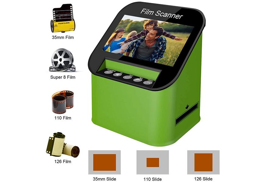 Rybozen Digital Film Scanner Haute Résolution 22 MP