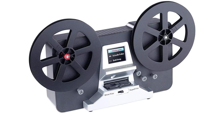 Scanner de pellicule pour films 8 mm et Super 8 [Somikon]