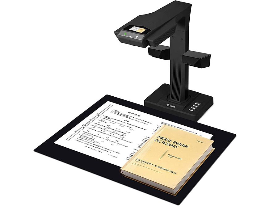 Test CZUR ET18-P Premium Scanner de Livres et Scanner de Document