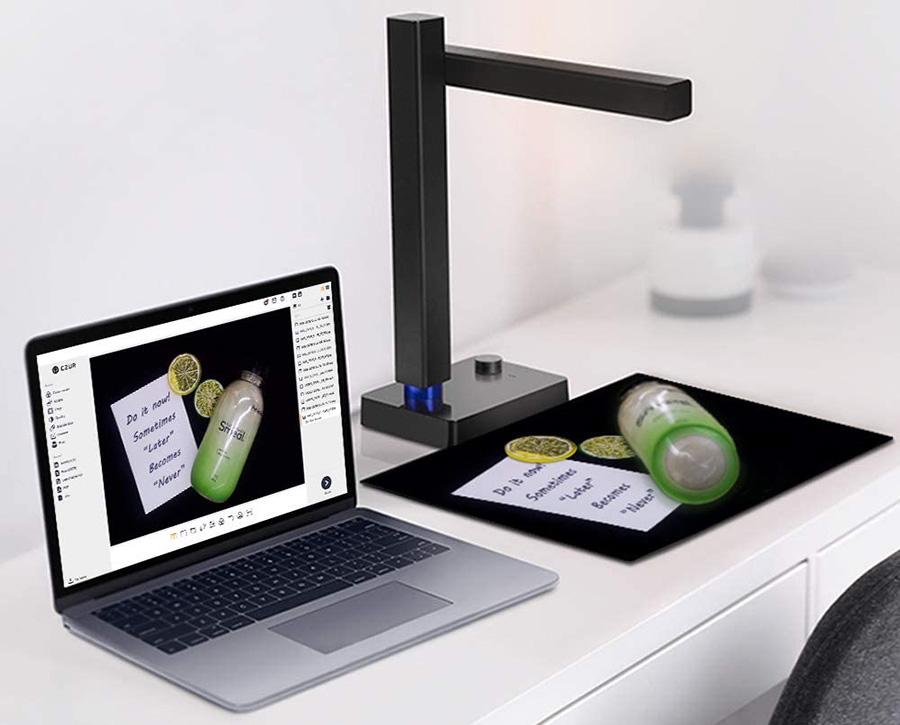 Test CZUR Shine 800 Pro Scanner de Documents A4 Compact et Portable
