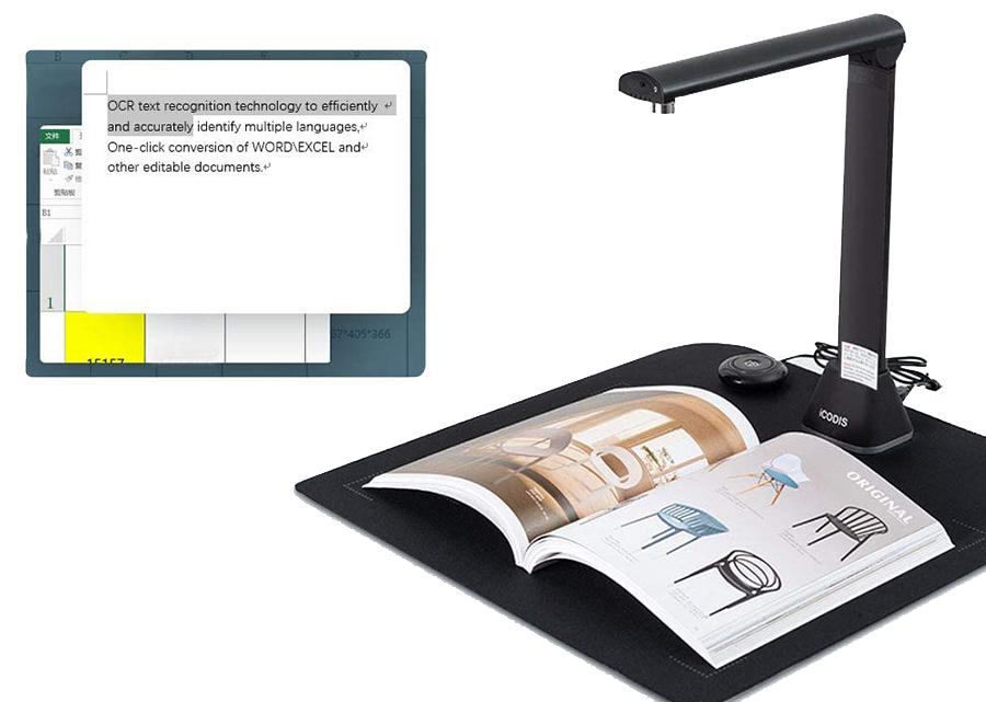 Test Caméra de Lecture et de Documents Bamboosang X9