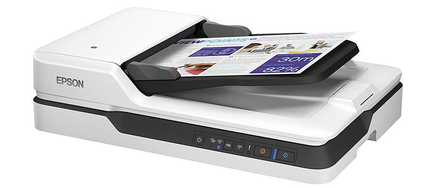 Test Epson Workforce Scanner de Documents DS-1660W DIN A4