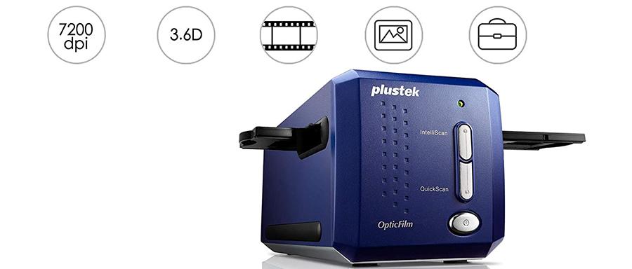 Test Plustek OPTICFILM 8100 FILMSCANNER