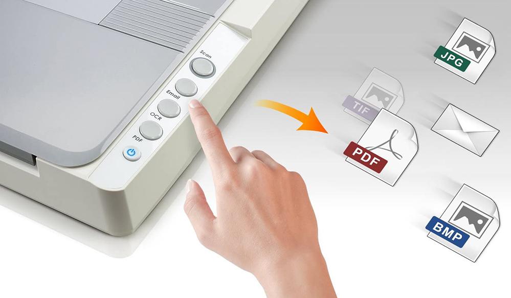Test Plustek OS1180 Scanner à Plat pour Graphiques et Documents au Format A3