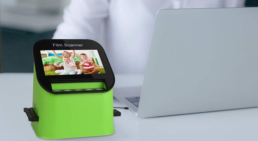 Test Rybozen Digital Film Scanner Haute Résolution 22 MP