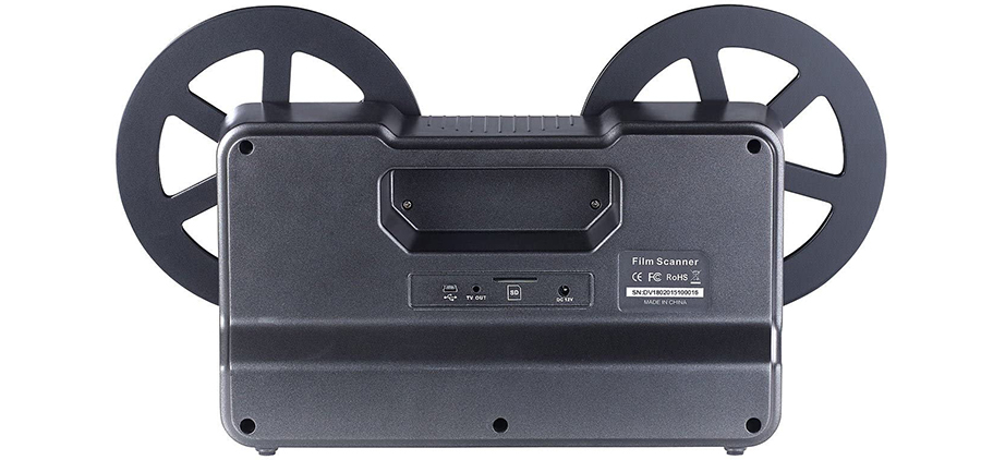 Test Scanner de pellicule pour films 8 mm et Super 8 [Somikon]