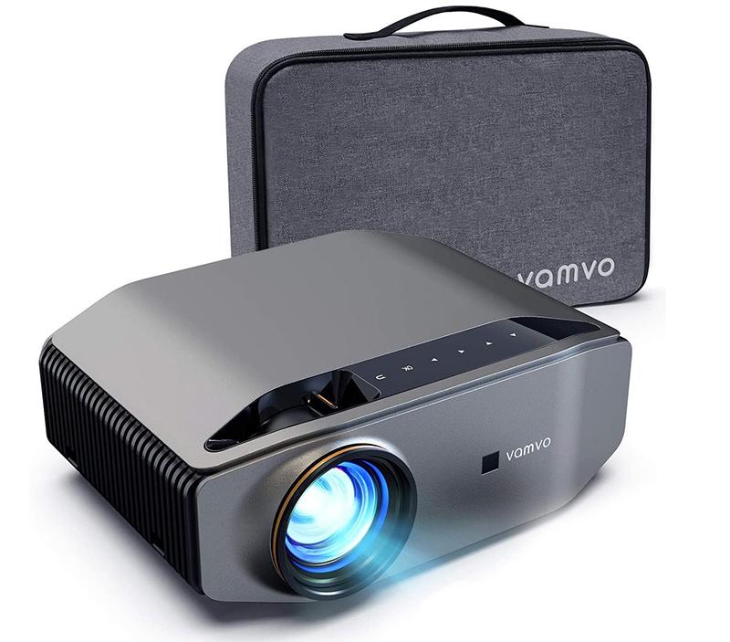Test Videoprojecteur Vamvo 300 6500 Lumens 1080P Natif
