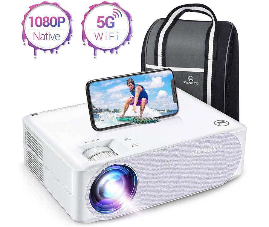 VANKYO Videoprojecteur WiFi 7800 Lumens Projecteur 5G WiFi