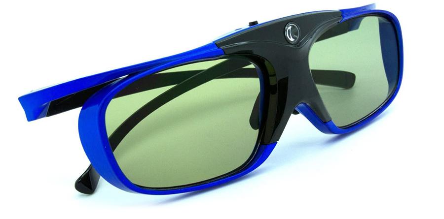 Test LCS - 2 Paires de lunettes 3D actives DLP-LINK