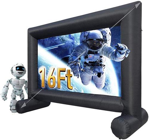 test - Sewinfla 16Ft, Un écran Gonflable