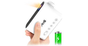 test et avis du Mini Projecteur Batterie Artlii Q