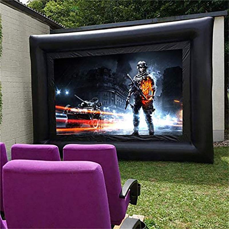 Comment se servir d'un écran de projection gonflable ?