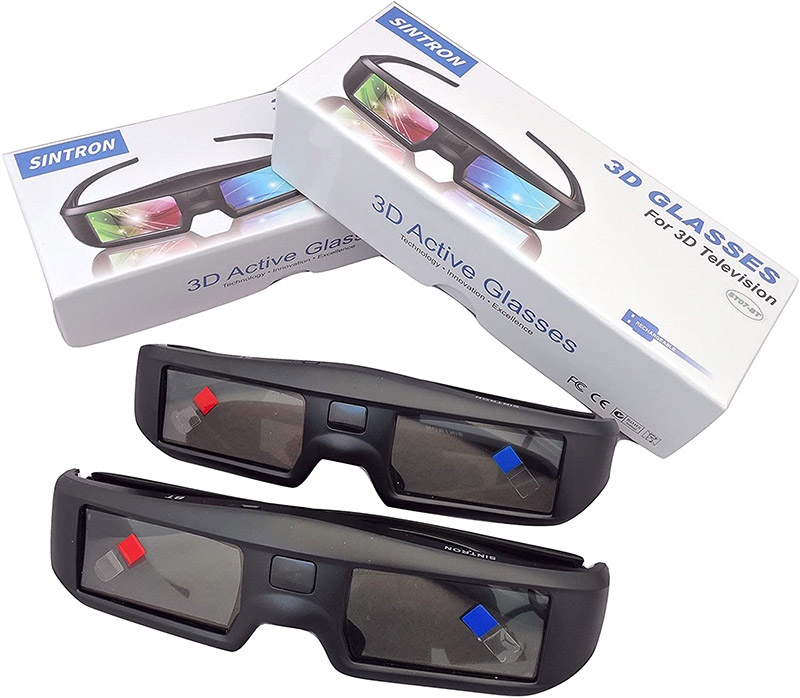 avis Sintron 3D Aktive Shutter Brille Rechargeable ST07-BT