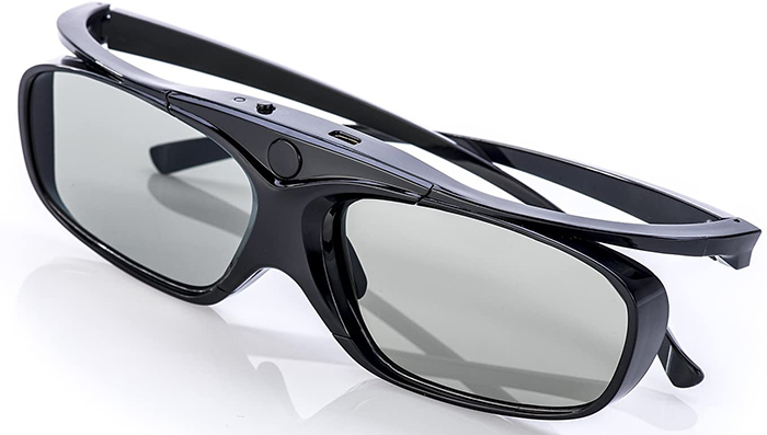 avis et test Hi-SHOCK RF Pro Black Heaven Lunettes actives 3D pour projecteur Full HD-HDR-4k