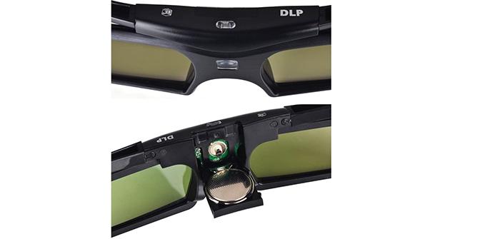 avis et test Pergear 144 HZ Lunettes 3D Obturateur actif DLP-Link pour projecteur