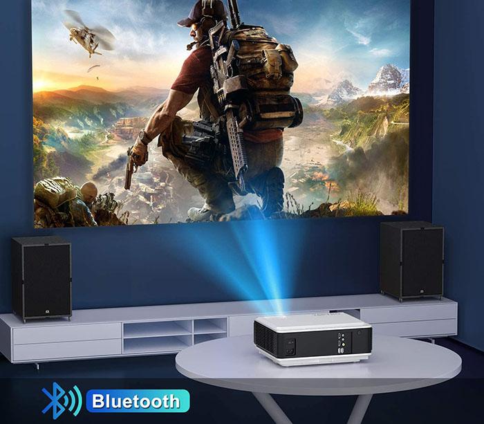 comparatif TOPTRO 8200 Lumens 5G Vidéoprojecteur WiFi Bluetooth Full HD 1080P