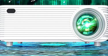 test WISELAZER Vidéoprojecteur Full HD 1080P